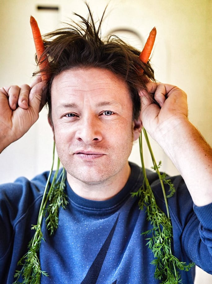 Jamie Oliver and VegPower