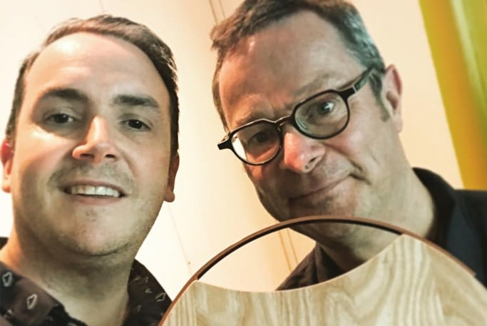 Hugh Fearnley Whittingstall and Graeme Hall of ifour