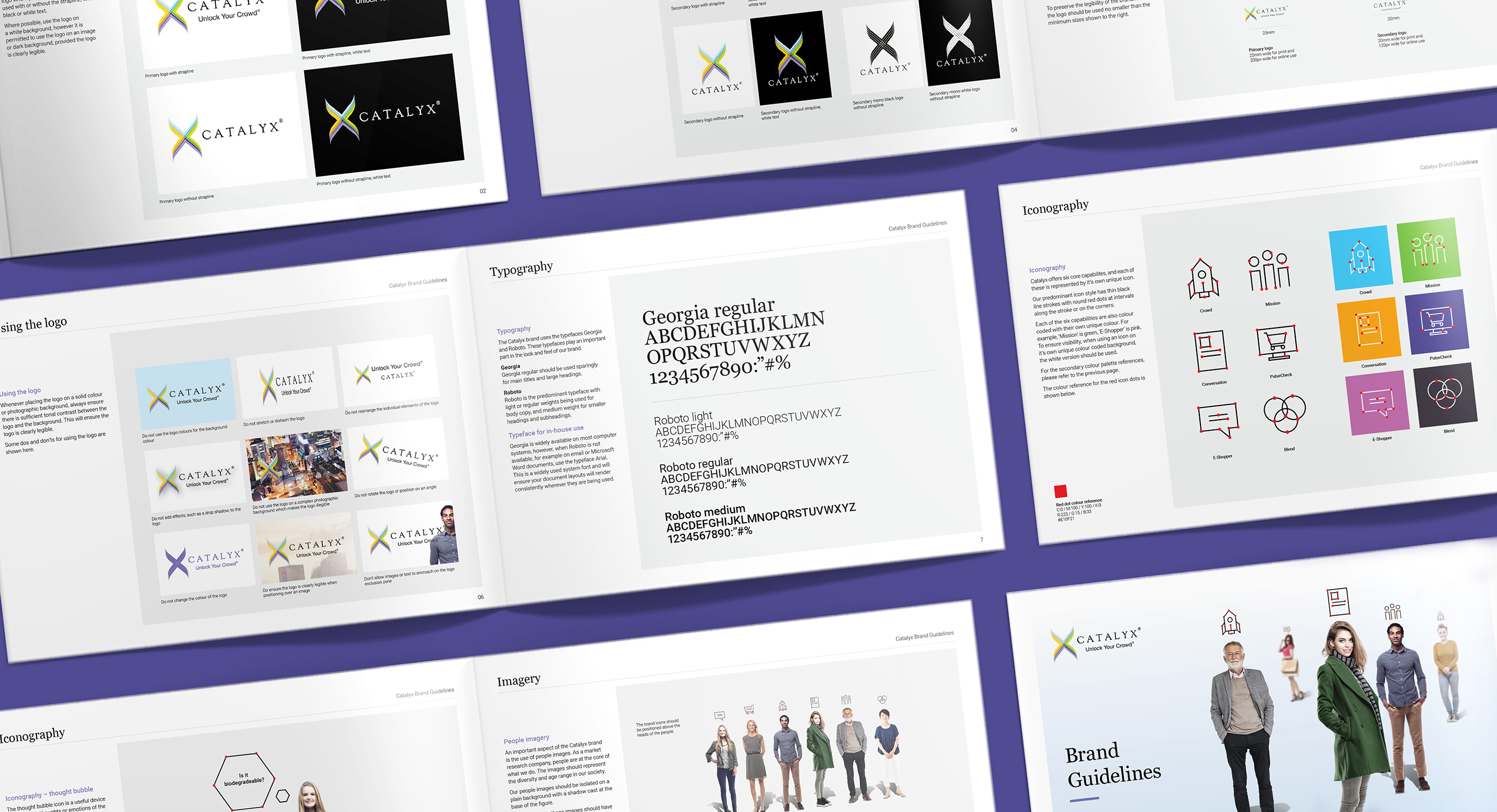 Catalyx branding guidelines