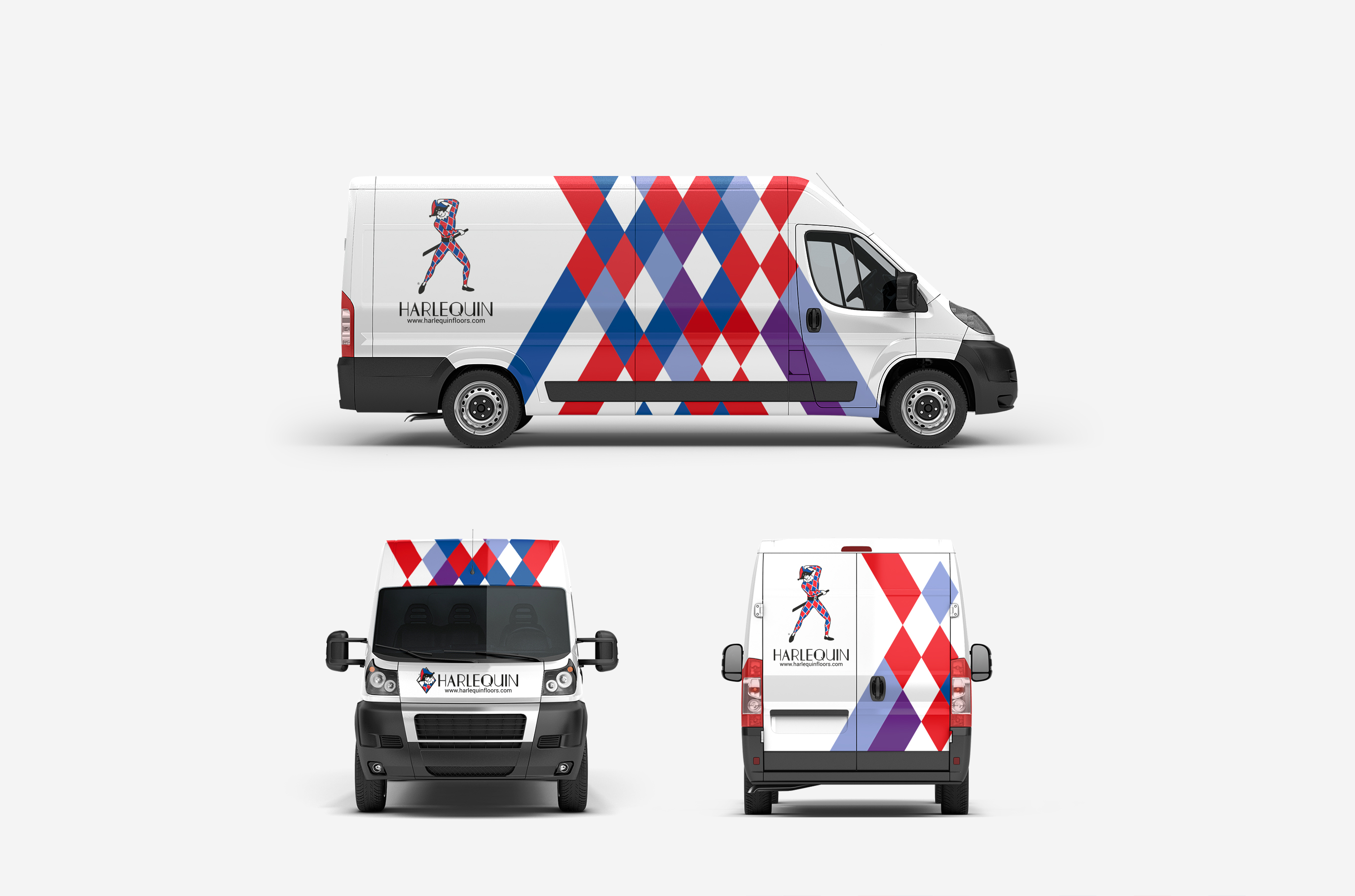 Harlequin Floors van livery